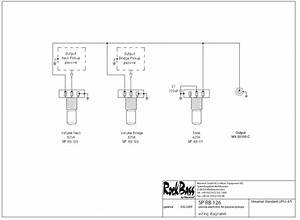 Wiring Diagram - Warwick Streamer Standard  4 String  Single Pickup