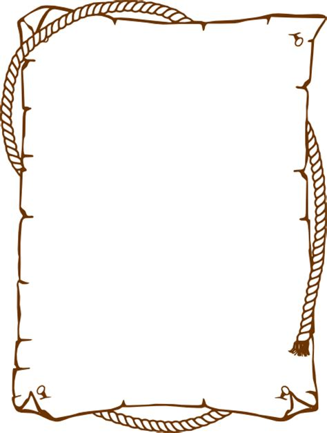 Rope Border Clipart Western Rope Border Clip At Clker Vector Clip