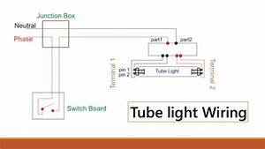 Diagram Of Wiring A Light Tube