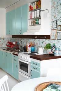 tapeten fuer kueche ideen für tolle tapeten muster in der küche