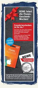 Rewe Geschenkkarte Aufladen : 25 eur itunes karten 5 eur geschenk bei rewe mobil ganz ~ Buech-reservation.com Haus und Dekorationen