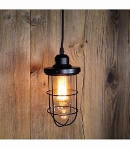 Suspension Ampoule Vintage : suspension vintage verre et cage pour ampoule filament edison st58 ~ Dode.kayakingforconservation.com Idées de Décoration