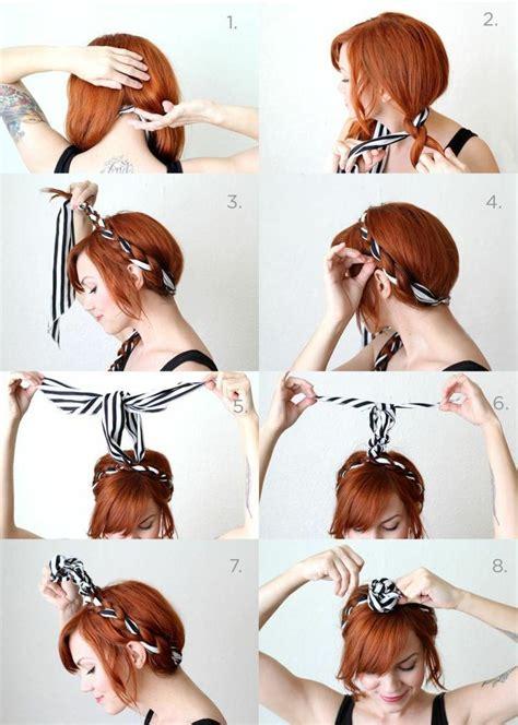 comment ranger sa cuisine 10 idées de coiffures avec un bandana astuces de filles