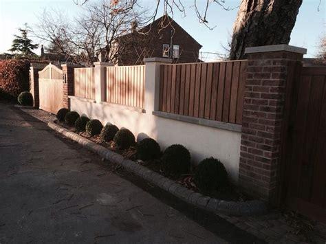 boundary wall gates fencing boundary wall