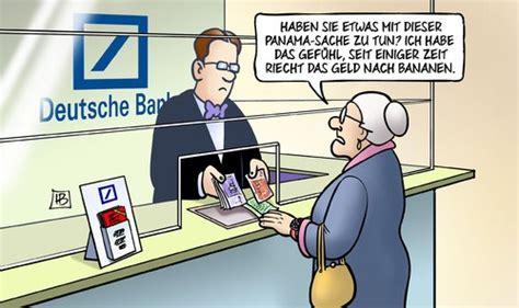 deutsche bank ach wie schoen ist panama freitags witze