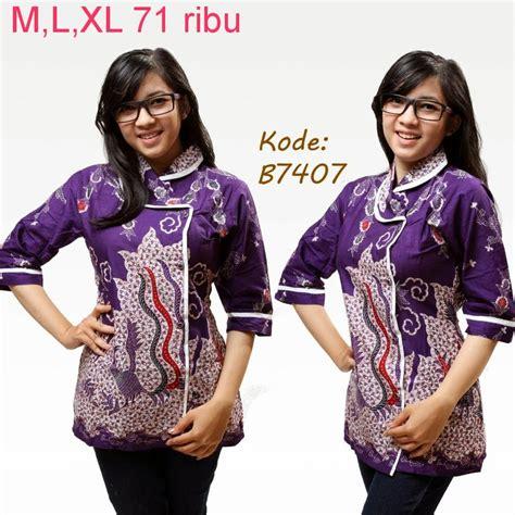 Baju Modifikasi Batik by Model Baju Batik Untuk Kerja Model Baju Batik