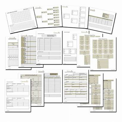 Forms Genealogy Tree Research Chart History Charts