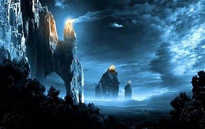 Fantasy Cool Wallpapers Landscapes Backgrounds Background Landscape