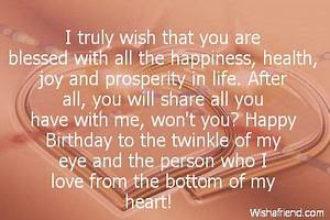 Boyfriend Happy Birthday Quotes - http://lifetimequotes ...