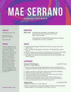 Colorful resume templates canva for Colorful resume templates