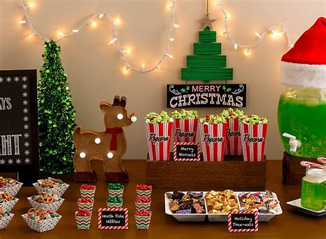 Holiday Movie Night Party  Party City