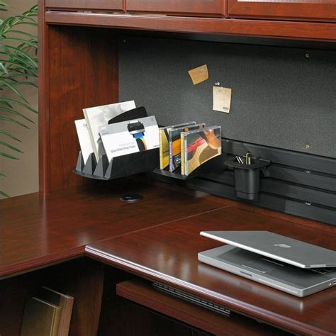 sauder heritage hill large executive desk hutch sauder heritage hill large executive desk hutch 109871