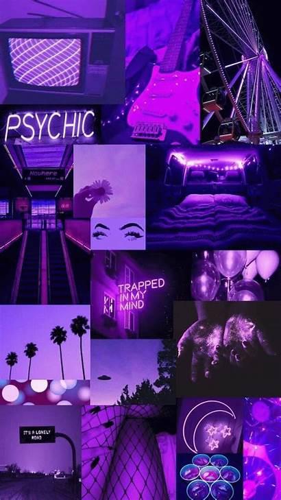 Aesthetic Grunge Purple Wallpapers Neon Nowhere 90s