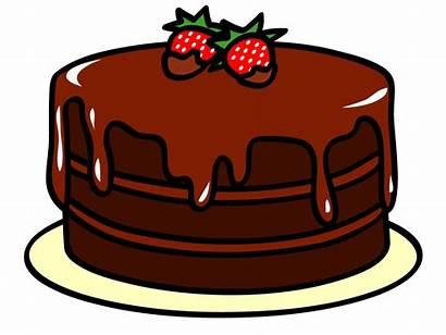Cake Clipart Clip Birthday Chocolate Words Abcteach