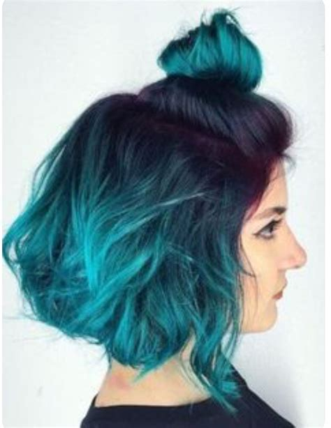 Pin By Taimah Martyr On Hair Dyed Hair Blue Ombre Hair