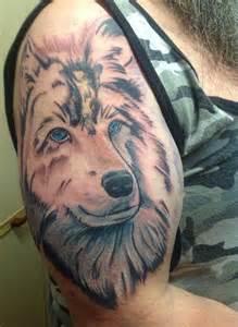 Wolf Spirit Animal Tattoo
