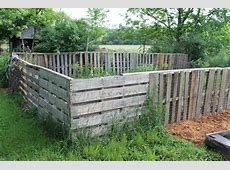 Beautiful DIY Pallet Fence For Yard Pallets Designs