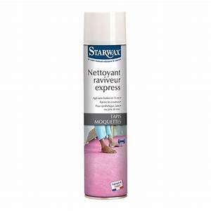 Nettoyant raviveur express pour tapis et moquettes for Nettoyant tapis moquette