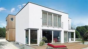 Fertighaus Mit Dachterrasse : ein fertighaus mit flachdach inspiration f r mehr wohnraum ~ Lizthompson.info Haus und Dekorationen