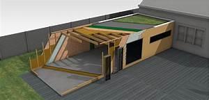 Extension Maison Bois Kit : extension bois et passion ~ Melissatoandfro.com Idées de Décoration