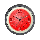 Watermelon Wall Clock by mranesesdesigns