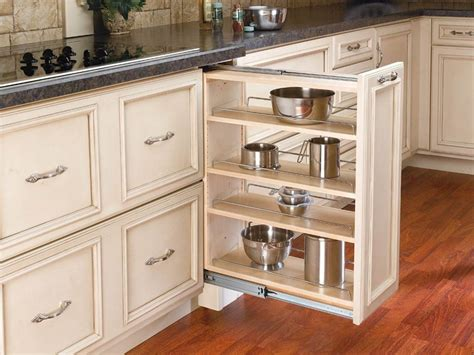 pull out kitchen cabinets pantry cabinet pull out system fridge gap slide ikea 8432