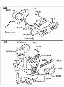 2852133020 - Hyundai Gasket