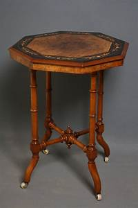 Victorian, Occasional, Table, In, Walnut