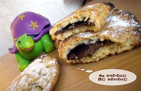 chaussons sabl 233 s gourmands au nutella ou 224 la pomme recette