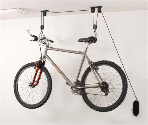 Ceiling Bike Storage Lift Hang Cycle Bicycle Garage Shed