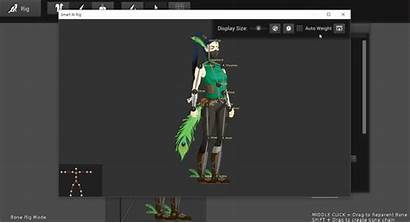 Weighting Rig Animation Character Assign Regions Step
