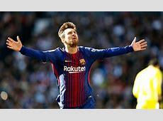 Barcelona star Lionel Messi sends Cristiano Ronaldo and