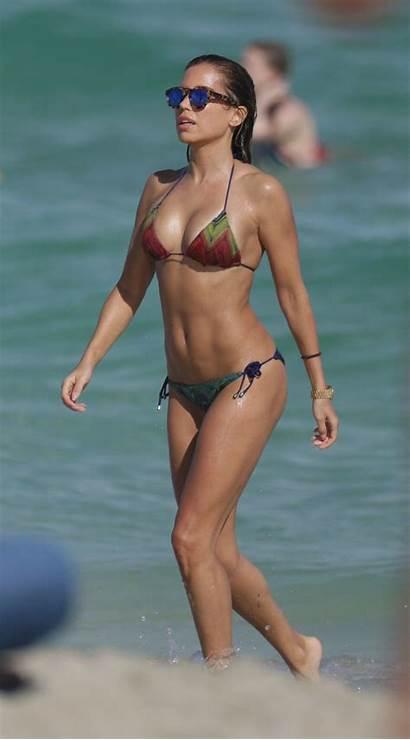 Sylvie Meis Bikini Beach Miami December Bikinis