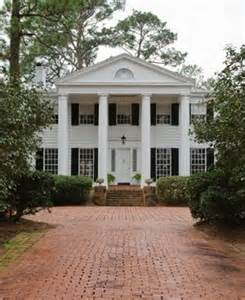 plantation style house plans hill house mobile bay march 2012 alabama