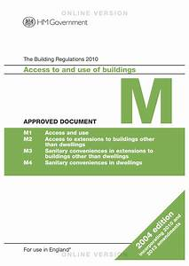 building design expert approved document m access to and With part m documents