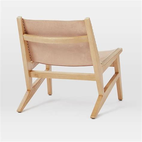 commune leather sling chair west elm
