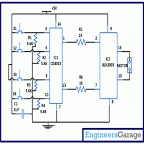 curtain opener circuit diagram engineersgarage