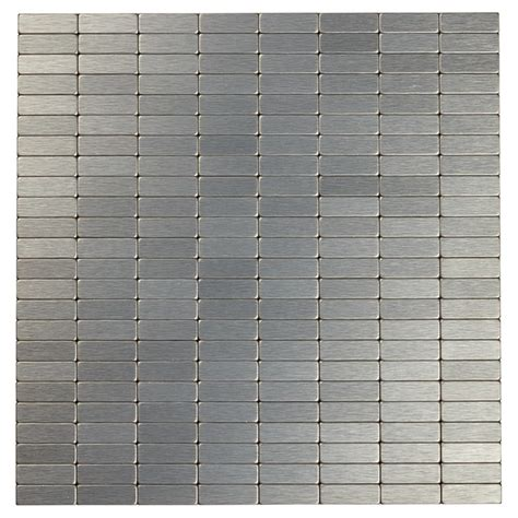 self adhesive metal tile dg grey rona