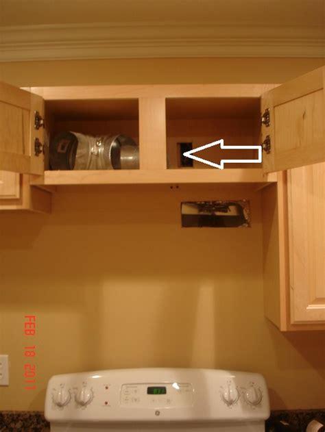 installing    range vent remodeling