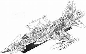 Cutaway Thursday  Northrop F
