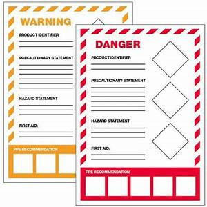 ghs secondary container labels ppe ghs labels seton With ghs secondary labels