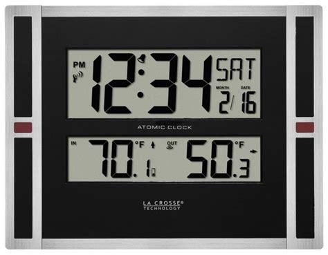 digital atomic desk clock clockway aqua pear castleford digital atomic wall desk