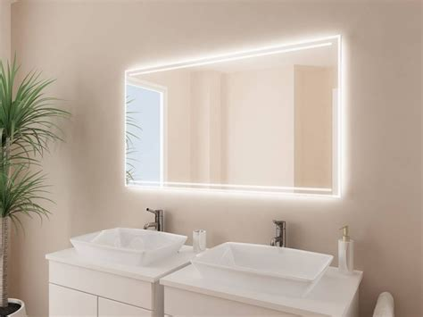 badspiegel led beleuchtung badspiegel mit led beleuchtung arkadia badspiegel de