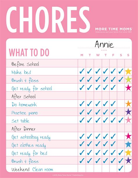 chore charts fridge organizer combo time moms