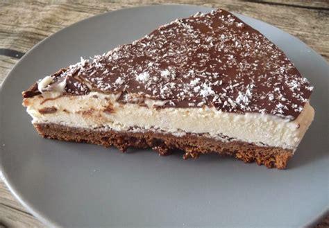 dessert noix de coco chocolat g 226 teau glac 233 brownie chocolat noir cr 232 me glac 233 e 224 la noix de coco par luly cooker