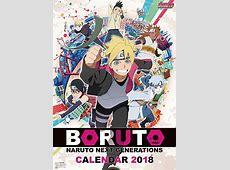 CDJapan BORUTO NARUTO NEXT GENERATIONS [Calendar 2018