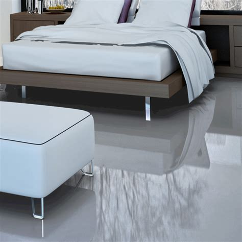 falquon high gloss flat edge grey laminate flooring d3550