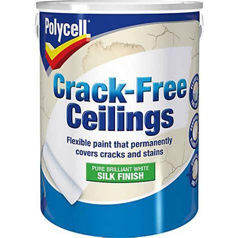 Polycell Textured Ceiling Matt Rippled Finish  5l At