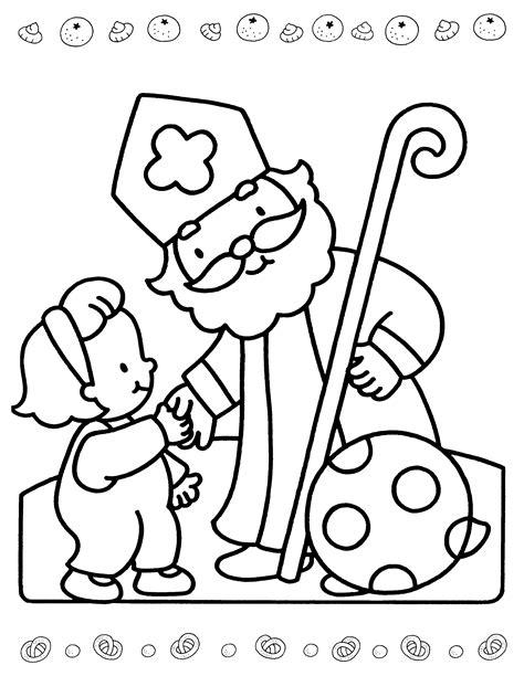 Kleurplaat Sinterklaas Roe Peuters by Sinterklaas Is Jarig Kleurplaat Sint Sinterklaas