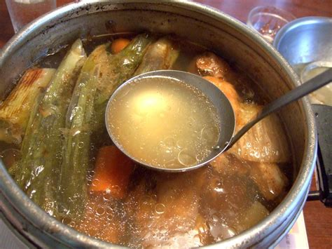 meaning of cuisine in bouillon broth